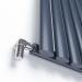Дизайнерский радиатор Ideale ADELE 11 17/550 антрацит