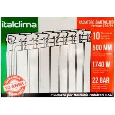 Биметаллический радиатор ITALCLIMA Ferrum 350/96 BM